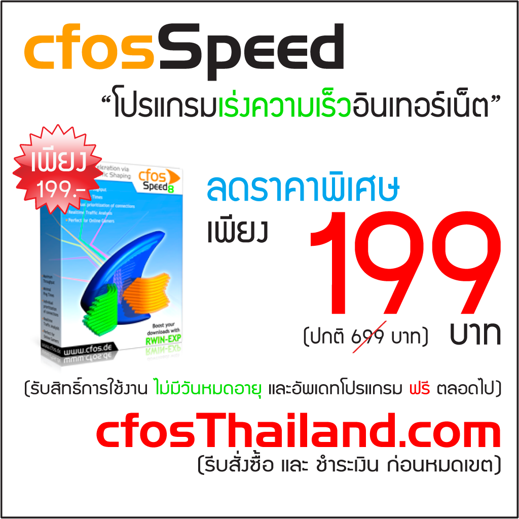 cFosSpeed Traffic Snaping